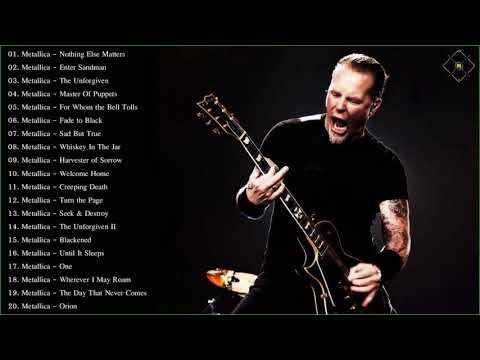 Metallica Greatest Hits Full Album 2018 - Best Of Metallica - Metallica Full Playlist