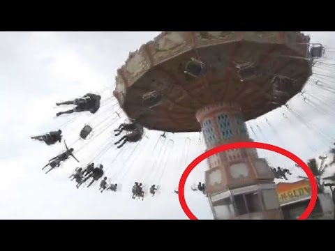 Shocking! Chennai's Kishkinta Amusement Park Accident Caught On Cam