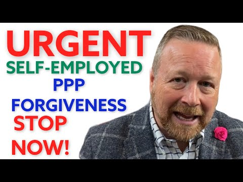 PPP Loan Self-Employed: STOP Filing PPP Forgiveness [Biden PPP Loan Changes] Get PPP Gross Receipts