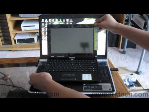 ASUS Eee PC T101MT - Unboxing and First Impressions
