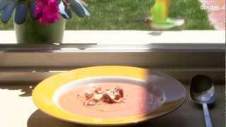 Salmorejo (Spaanse koude tomatensoep)