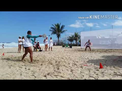 Frescobol Coração Valente: Fabio & Doca - Campeões da Etapa Pepê-RJ em 12/06/16