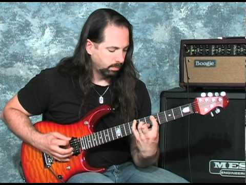 Petrucci - John Petrucci discusses the philosophy behind his Mark V settings and demonstrates the tones used in Dream Theater. Recorded in Petaluma, CA at Mesa/Boogie -...