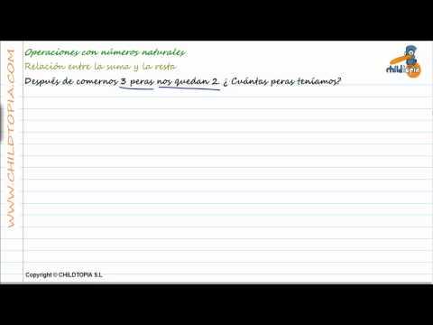 Vídeos Educativos.,Vídeos:Problemas números naturales 2