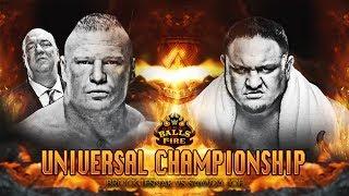 THIS IS A SIMULATION IN WWE 2K17 / ESTO ES UNA SIMULACIÓN EN WWE 2K17 Tienda oficial del canal: http://www.latostadora.com/luiseterayman Miniaturas gracias a...