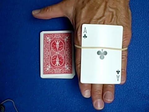 cardtrickteacher - Amazing card trick with rubber band revealed in this tutorial. fernandop1 Card Trap http://www.youtube.com/watch?v=n59hWoV2FiM fernandop1 Card Trap Tutorial ...
