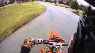 10. KTM 200 EXC First Ride