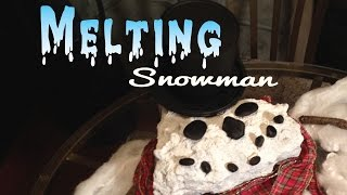 DIY Melting Snowman - YouTube