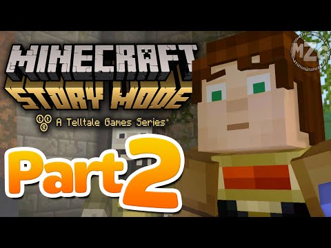 Unknown Portal!? - Minecraft: Story Mode - Episode 5: Part 2 (Let's Play Playthrough)