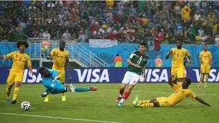 Mexico Vs Cameron Match Highlights Fifa World Cup 2014 13/06/2014