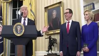 U.S. Treasury Secretary Steven Mnuchin married Scottish actress and producer Louise Linton at Washington's Andrew W. Mellon Auditorium Saturday night. ABC Ne...