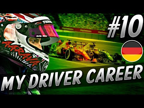 FUN BATTLE WITH GIOVINAZZI! - F1 MyDriver CAREER S6 PART 10: GERMANY