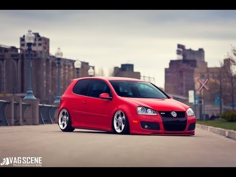 Kevin's Red MK5 GTI on Alphards by VAGScene.com