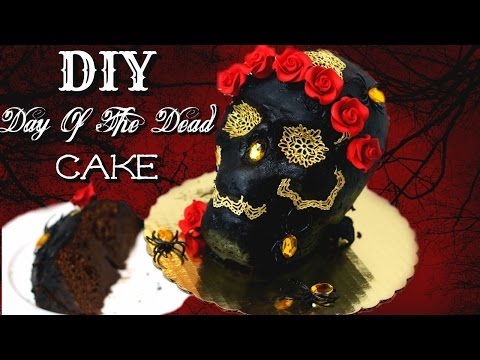 DAY OF THE DEAD CAKE || Janie's Sweets