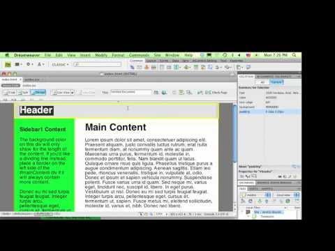 web sitio web con plantillas en dreamweaver cs3 descargar plantillas