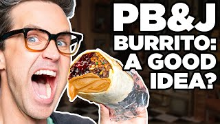 Video Is Peanut Butter And Jelly Good In Everything? Taste Test download in MP3, 3GP, MP4, WEBM, AVI, FLV January 2017