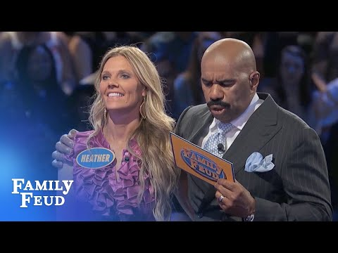 The STEWARTS play FAST MONEY! | Family Feud