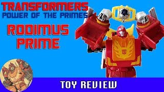 Video Transformers - Power of the Primes - Rodimus Prime Toy Review MP3, 3GP, MP4, WEBM, AVI, FLV Juni 2018
