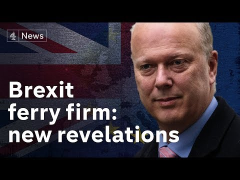 New revelations about no deal Brexit ferry firm
