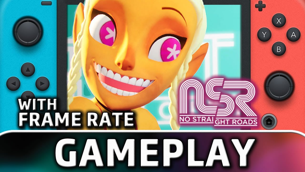 No Straight Roads | Nintendo Switch Gameplay and Frame Rate