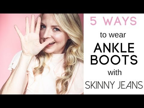 5 Ways To Wear Ankle Boots & Skinny Jeans | Fashion Over 40
