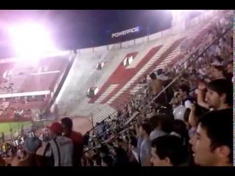 La banda del pincha en la cancha de huracan - La Barra de Caseros - Club Atlético Estudiantes