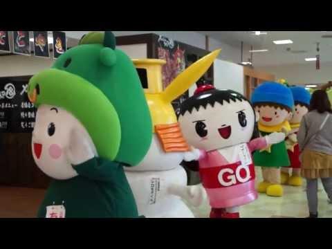 【ゆるキャラ】松阪で三重のキャラたちがパレード【マーム】