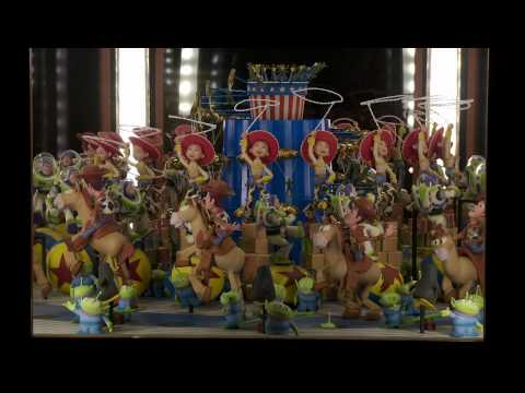0 Video: Toy Story Zoetrope