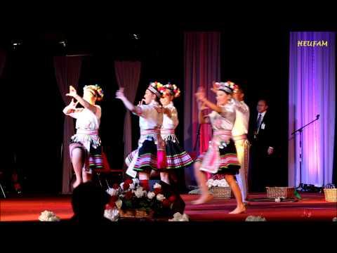 Fresno Hmong International New Year 2015: Dance Competition - Group #3  Tsoom Tub Ntxhais Hmoob