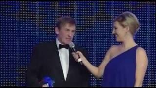 Kenny Dalgish erhält Life Time Achievment Award