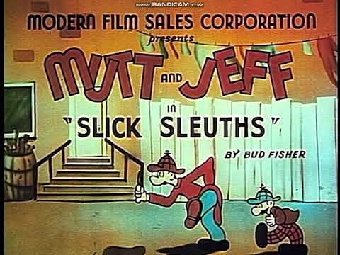Opening to Cartoon Craze - Mutt and Jeff: Slick Sleuths 2004 DVD