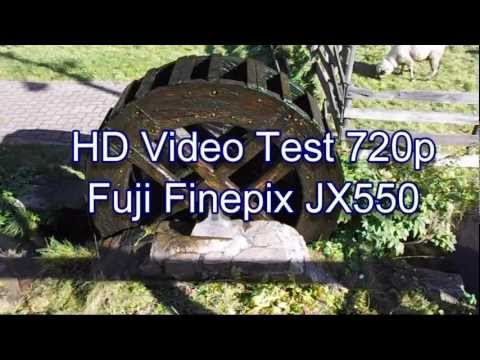 Fujifilm FinePix JX550 HD Video Test