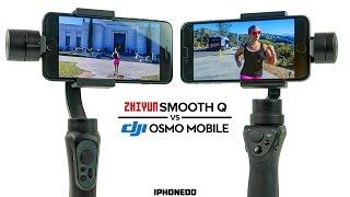Zhiyun Smooth-Q vs DJI Osmo Mobile —Complete Comparison [4K]
