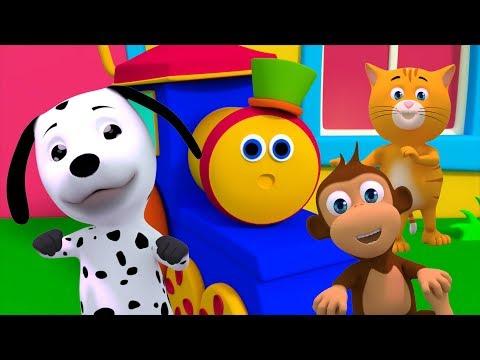 Bob der Zug   wenn Sie glücklich   Kinderlieder   If You Are Happy Song   Bob Train   Children Song
