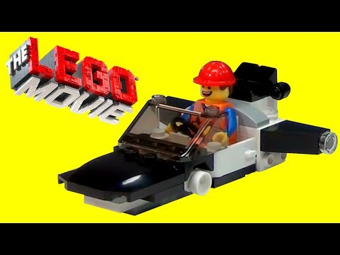 LEGO Movie Emmet's Car & Fly Car Build and Review