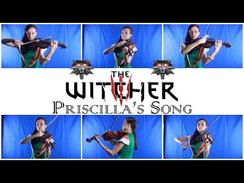 The Witcher 3 - Priscilla's Song Cover by Anastasia Soina Violin