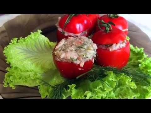 Healthy stuffed tomato recipe | Cherry tomato appetizer recipe