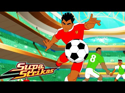 S4 E12 The 12th Man   SupaStrikas Soccer kids cartoons   Super Cool Football Animation   Anime