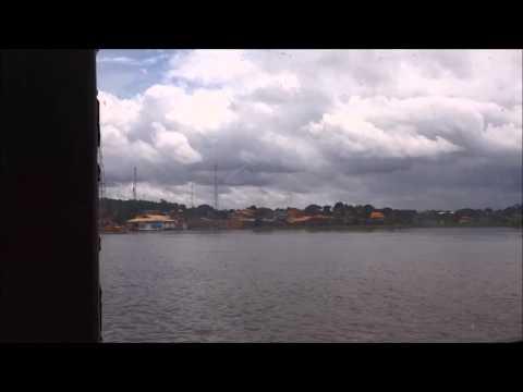 Navegando pela Amazônia: Chegando em Alenquer de Lancha