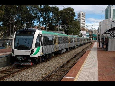 Rail service to Perth Air Port