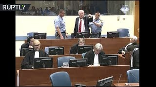 Video RAW: Former general Mladic removed from courtroom after outburst against judges MP3, 3GP, MP4, WEBM, AVI, FLV November 2017