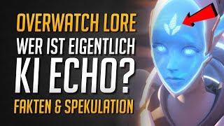 Wer ist Overwatch Heldin ECHO?   Overwatch Story   McCrees Blackwatch Partner? • Overwatch Deutsch