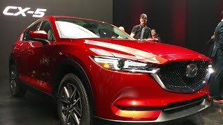 2017 Mazda CX 5 - First Look by MilesPerHr