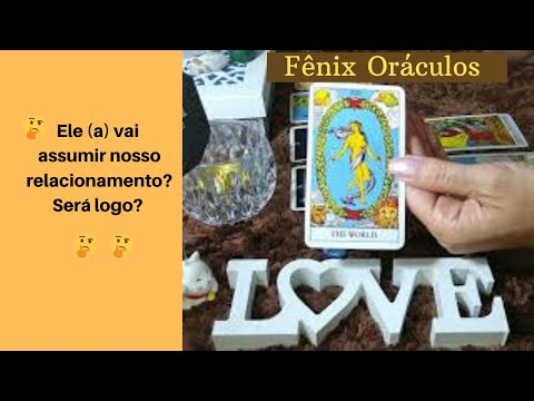 ELE (A) VAI ASSUMIR NOSSO RELACIONAMENTO? SERÁ LOGO? Tarot Responde - Tarot do Amor Leitura Int. 83