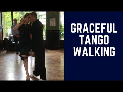 Tango Walking Technique: One Experiment for Powerful Lady/Follower dancers