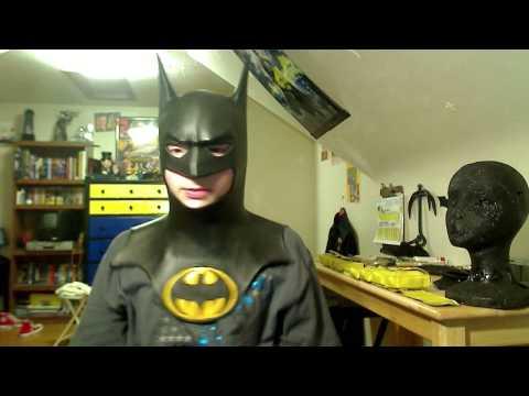 building cheap batman costume cowl comic style suit    batman cowl part 1