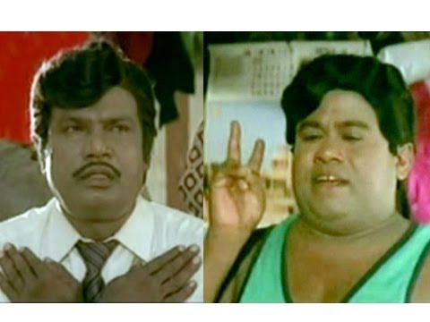 Senthil - Watch the mayhem that follows as Goundamani beats up senthil and dresses him as a woman in this funny comedy scene from the blockbuster Tamil comedy film, Co...