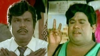 Senthil, Goundamani Comedy - Coimbatore Mappillai Tamil Movie Scene - My Wife Is A Pain