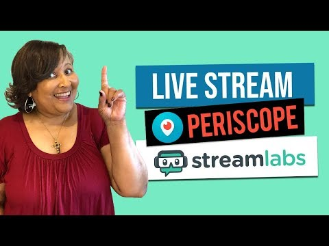 Watch 'How to Use the Streamlabs App to Live Stream on Periscope '