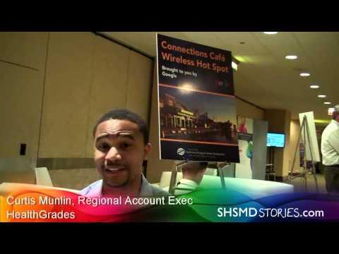 Curtis Munlin of HealthGrades at #SHSMD